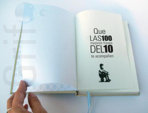 Primera página o portada del cuaderno de El Diego