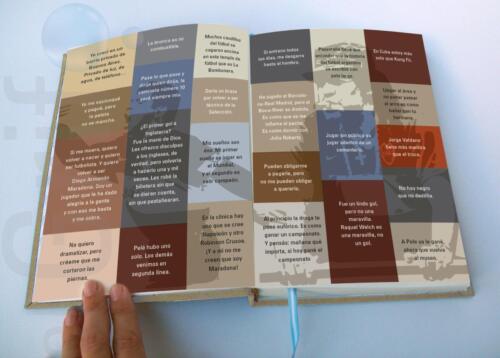 Paginas color con frases famosas de El Diego
