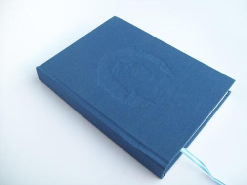 cuaderno maradona tapa azul